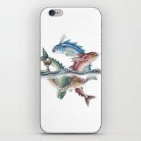 INKYFISH - Jumping Fish iPhone & iPod Skin