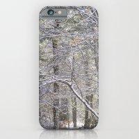 snowy road  iPhone 6 Slim Case