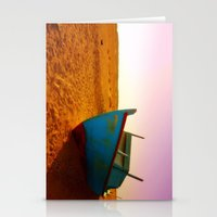 Sailing The Sand Stationery Cards