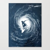Category 5 Canvas Print