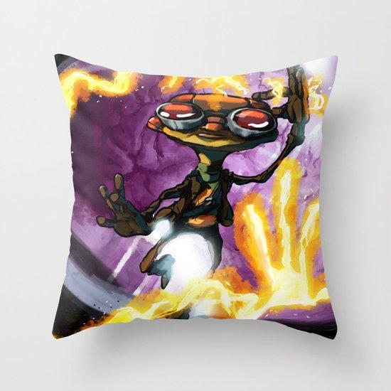 Razputin Throw Pillow