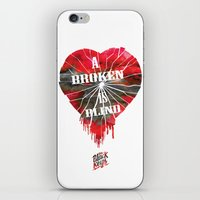 A Broken Heart Is Blind … iPhone & iPod Skin