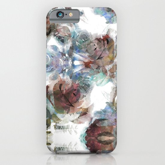 Digital abstract iPhone & iPod Case