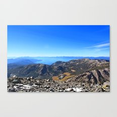 The Top of Tahoe Canvas Print
