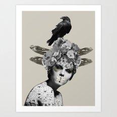 Shush  Art Print