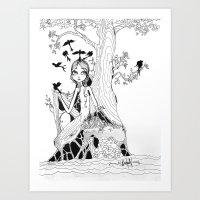 Daphne Art Print