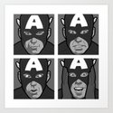 The secret life of heroes - Photobooth2-Total Art Print