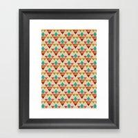 Retrospect, Triangle Nonet, No. 02 Framed Art Print