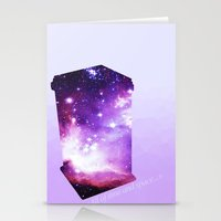 All of time and space - The Tardis Stationery Cards