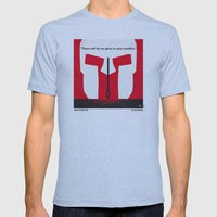 No001 My 300 minimal movie poster Mens Fitted Tee Athletic Blue SMALL
