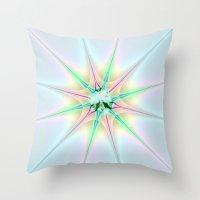 Sparkling Star Throw Pillow