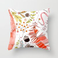 WASHED OUT OF OUR BONES Throw Pillow