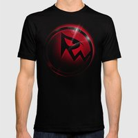 RicoWear Mens Fitted Tee Black SMALL