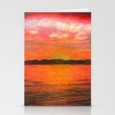 Pacific Northwest Sundown Stationery Cards