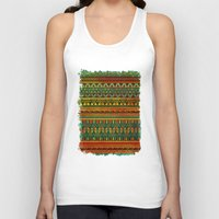 Inspired Aztec Pattern 3 Unisex Tank Top