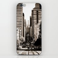 Downtown San Francisco iPhone & iPod Skin