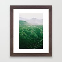 Montes Framed Art Print