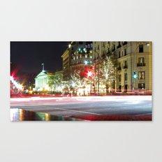 Lights on Pennsylvania Ave Canvas Print