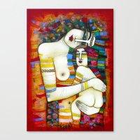 MADONE (hommage to Klimt) Canvas Print