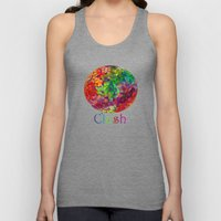 Color Theory Clash Unisex Tank Top