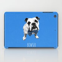 Blue Bowser iPad Case