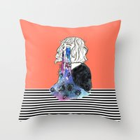 Universe Eyes Throw Pillow