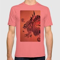 Legendary Mens Fitted Tee Pomegranate SMALL