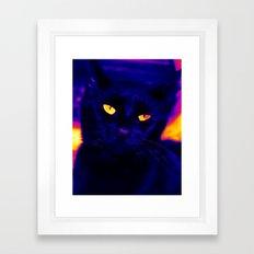 Ink Electricfied Framed Art Print