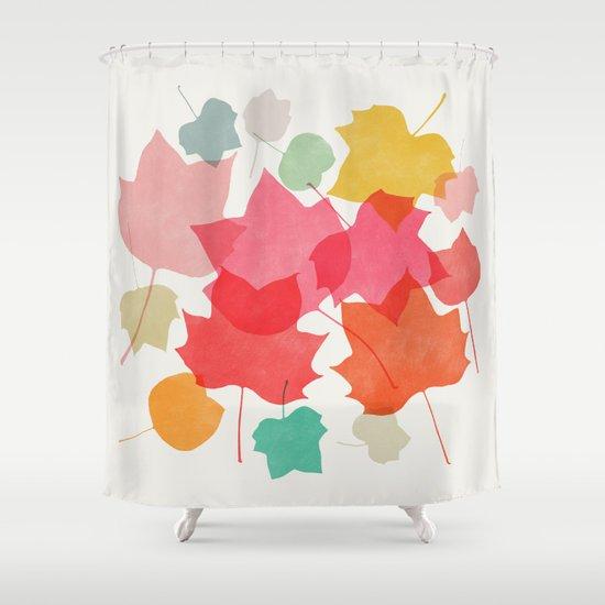 Mapleleaf 1 Shower Curtain