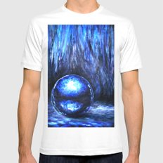 Loneliness Mens Fitted Tee White SMALL