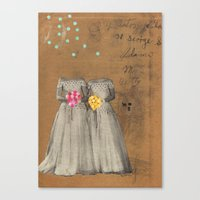 The Two Bettys Canvas Print