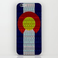 Colorado Flag/Geometric iPhone & iPod Skin