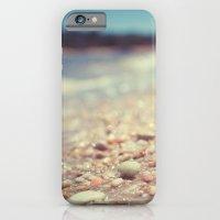 Pebbles Along the Shoreline iPhone 6 Slim Case