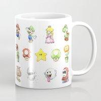 Mario Characters Waterco… Mug