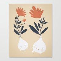 Bulbs Canvas Print