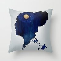 Wild Dreams  Throw Pillow