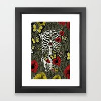 Idiopathic Idiot-Color Framed Art Print