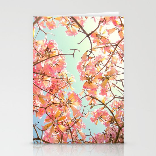 Spring Splendor Stationery Card