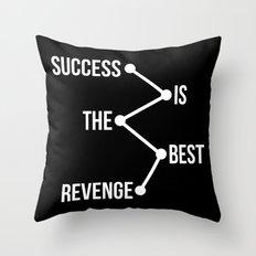 Success is the Best Revenge Light Throw Pillow