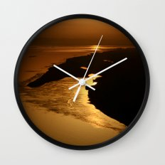 Golden Hour at the Prayag Wall Clock