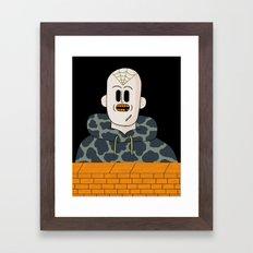 Spider Bro Framed Art Print