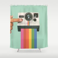 Take A Picture. It Lasts… Shower Curtain