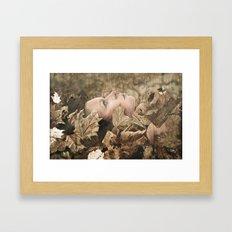 Never Here Framed Art Print