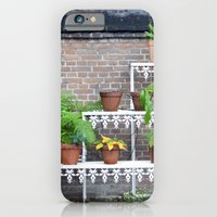 iPhone & iPod Case featuring Pots and plants by Marieken