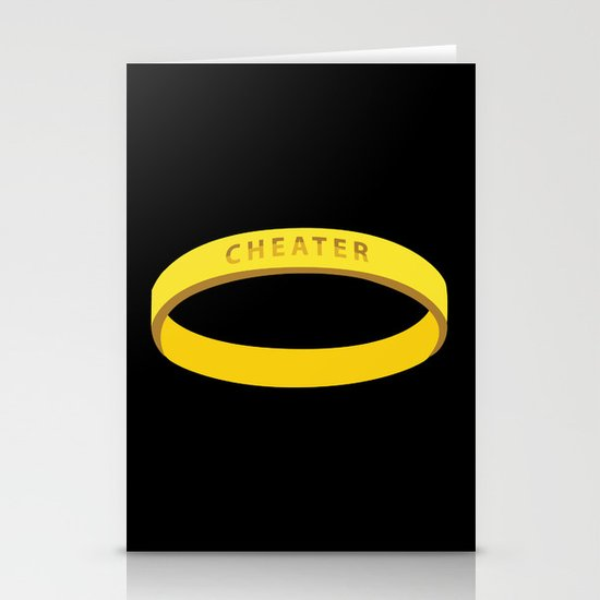 Cheater Stationery Card