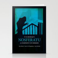 Nosferatu - A Symphony O… Stationery Cards