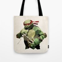 Polygon Heroes - Raphael Tote Bag