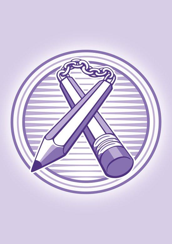 Doodle Weapon Art Print