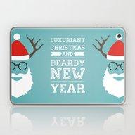 Luxuriant Christmas And … Laptop & iPad Skin