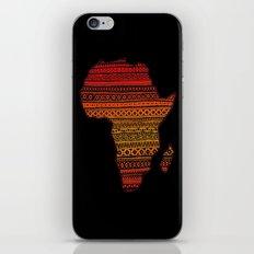 AFRIKA iPhone & iPod Skin